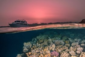 Sunset, Northern Red Sea