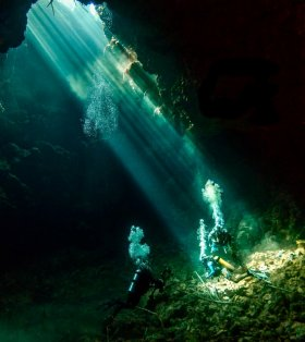 Cave Diving, Solomon Islands