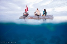 Morning Swim - Huihine, French Polynesia
