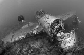 Jake Seaplane Wreck, Palau