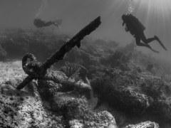 Abandoned Anchor; Nassau, Bahamas