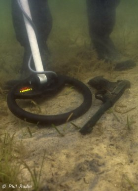 Florida State University underwater crime scene investigation, Panama City, Florida. © Phil Rudin, All Rights Reserved.