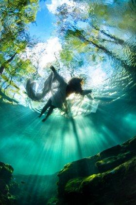 Water   Woman, Ginnie Springs, Fl.