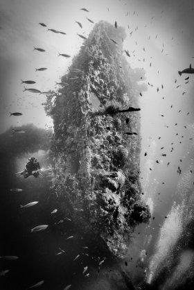 USS Liberty Shipwreck, Tulamben, Bali