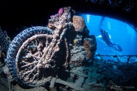 Thistlegorm - Photographed in Red Sea, Egypt