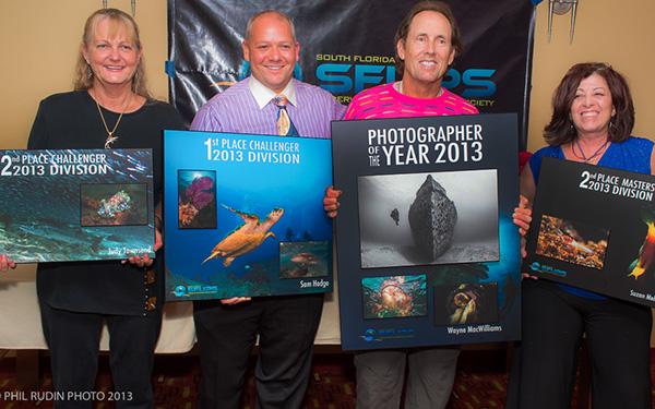 2013 Award Winners - Judy Townsend, Sam Hodge, Wayne MacWilliams, Suzan Meldonian